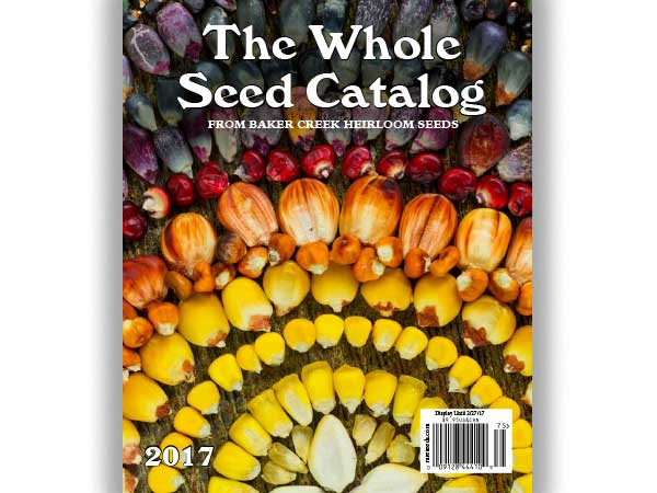 Exciting News… The 2017 Whole Seed Catalog is about to be released!